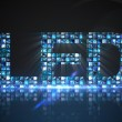 Led made of digital screens in blue — Stock Photo #51594631