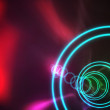 Colourful spiral with red glow — Stock Photo #51598117
