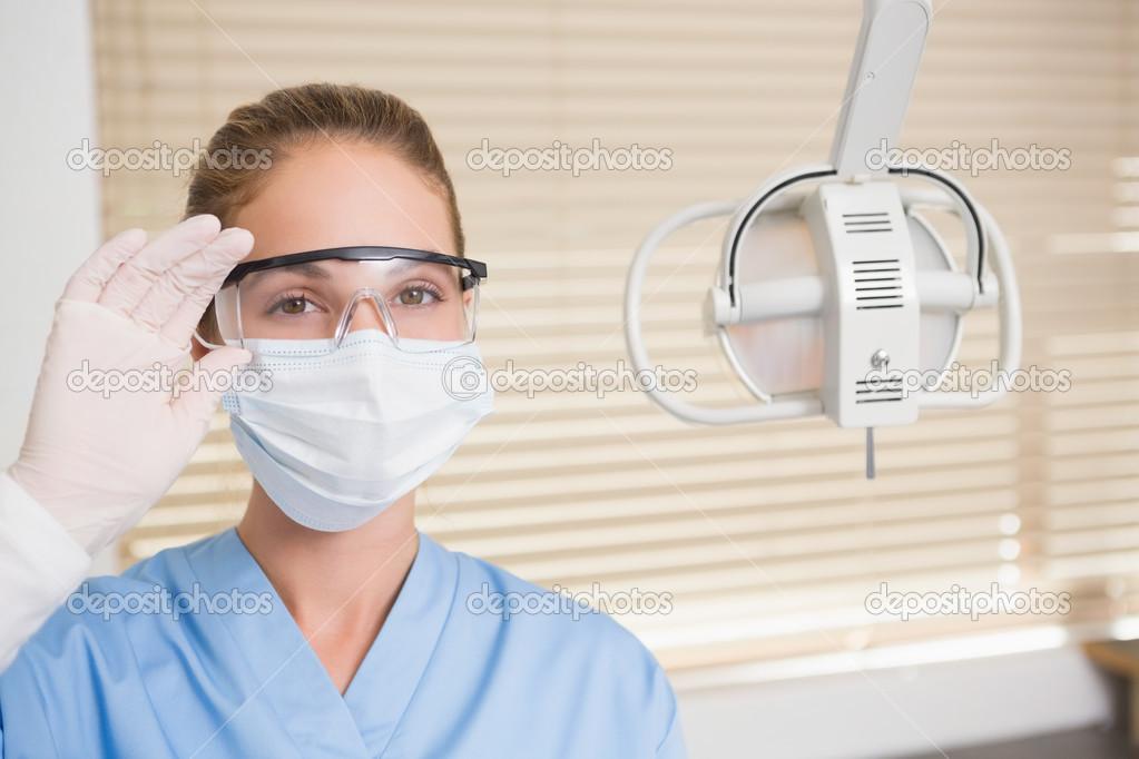 Zahnarzt Mundschutz