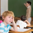Pupil not paying attention in classroom — Stock Photo #51603669