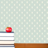 Red apple on pile of books — Stock Photo