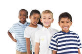 Cute children smiling — Stock Photo