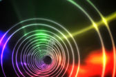 Colorful spiral with bright light — Stok fotoğraf