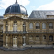 Stock Photo: Courtyard of Archives Nationales Main Building in Paris, France