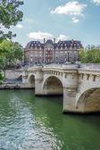 Bridge over Seine, Paris, France — Stock Photo