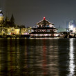Stock Photo: Night shot of Saint Nicholas Church (Sint Nicolaaskerk), Amsterd