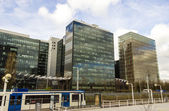 Office buildings near metro station Zuid, Amsterdam, the Netherlands — Stock Photo