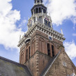 "Weigh house called ""Waag"" in Alkmaar, Holland, The Netherlands — Stock Photo"