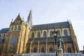 "St bavo church or ""grote kerk"" Haarlem, Netherlands — Stock Photo"
