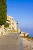 Porec - old Adriatic town in Croatia, Istria region. Popular tou — Stock Photo