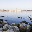 Porec in dawn sun — Foto Stock #25539151