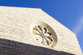 Church in center of city Zadar, Croatia, Europe — Stock Photo