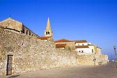 Porec - hırvatistan, istria bölgesinin adriyatik kent. popüler tou — Stok fotoğraf