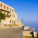 Porec - old Adriatic town in Croatia, Istria region. Popular tou — Stock Photo #25753413