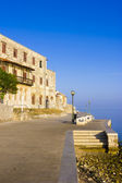 Porec - vieille ville adriatique en croatie, région de l'istrie. tou populaire — Photo