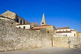 Porec - vieja ciudad adriática de croacia, región de istria. popular tou — Foto de Stock