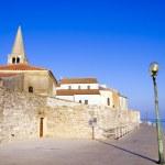 Porec - old Adriatic town in Croatia, Istria region. Popular tou — Stock Photo #27000753
