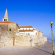 Stock Photo: Porec - old Adriatic town in Croatia, Istriregion. Popular tou