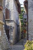 Ulice v porec, Chorvatsko — Stock fotografie