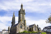 Gothic church in Brittany, France — Stock Photo