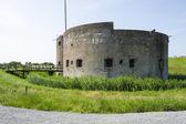 Ruinerna av gamla befästningen i muiden, nederländerna — Stockfoto