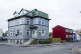 Buildings in Reykjavik — Stock Photo