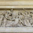 Bas relief, Pantheon, Paris, France — Stock Photo