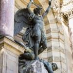 Постер, плакат: Saint Michael fountain Paris France