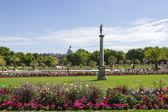 Luxembourg-trädgårdarna, paris, frankrike — Stockfoto