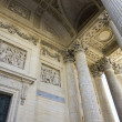 Stock Photo: Bas relief, Pantheon, Paris, France