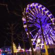 Turning Ferris wheel on achristmas market, Maastricht, Nethe — Stock Photo #38176931