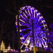 Turning Ferris wheel on christmas market, Maastricht, Neth — Stock Photo #38490887