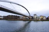 Big Bridge over the Maas river in Maastricht, Netherlands — Stock Photo