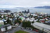 No centro da cidade reykjavik, Islândia — Fotografia Stock