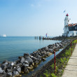 Stock Photo: Road to lighthouse, Marken, Netherlands