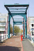 Bridge Ezelsbrug, Amsterdam, the Netherlands — Stockfoto