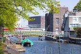 Bridge in Wittenburg, Amsterdam, Netherlands — Stock fotografie