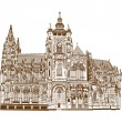 Royalty-Free Stock Vector Image: St. Vitus Cathedral