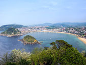 San Sebastian panorame — Stock Photo