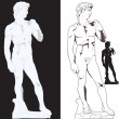 Michelangelo's David — Stock Vector #16273209