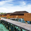 Stock Photo: Water Villas