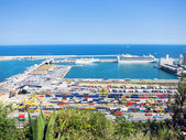 Barcelona Harbor — Stock Photo
