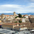 Cityscape of Segovia — Stock Photo