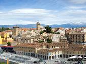 Cityscape of Segovia — Stock Photo