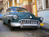 American car in Cuba — Stock Photo