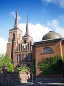 Roskilde Cathedral — Stock Photo