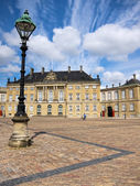 Amalienborg square, Copenhagen — Stock Photo