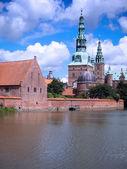 Pałac frederiksborg — Zdjęcie stockowe
