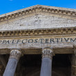 Stock Photo: Portico of Pantheon, Rome