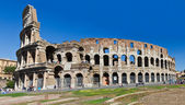 Colosseo Roma panorama Italia — Stock Photo